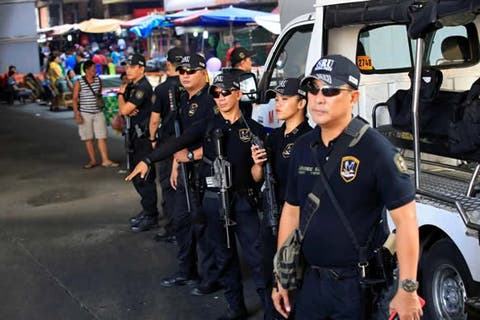 Four soldiers shot by police in Philippines
