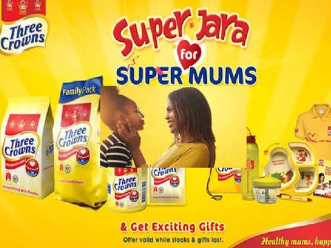 Three Crowns 'Jara' Campaign Promotes Care For Moms