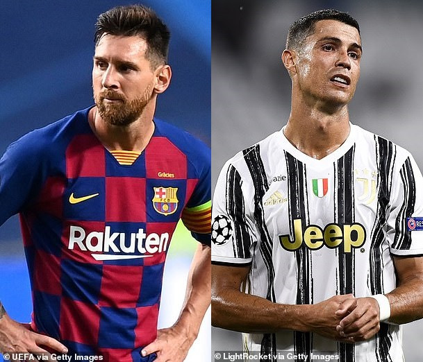 Lionel Messi and Cristiano Ronaldo fail to make UEFA's Champions League positional awards shortlist for the first time