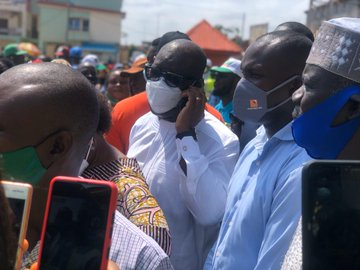 BREAKING: Governor Obaseki 's Thugs Chase Party Agents Of Other Political Parties From Polling Unit.(Photos)