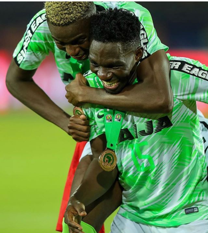 JUST IN: Kenneth Omeruo gives birth to a baby girl.