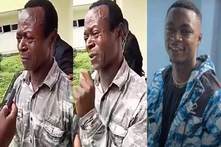 """There Was No War But They Just Wasted My Son"" – Father Of Young Boy Killed By Police Cries out."